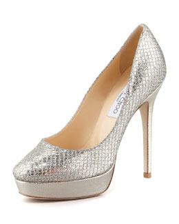 Jimmy Choo Cosmic Glitter Pump