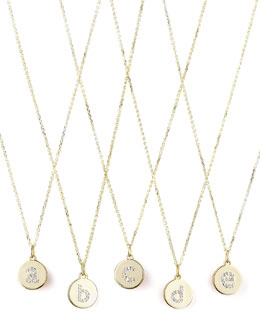 KC Designs Diamond-Initial Gold Necklaces