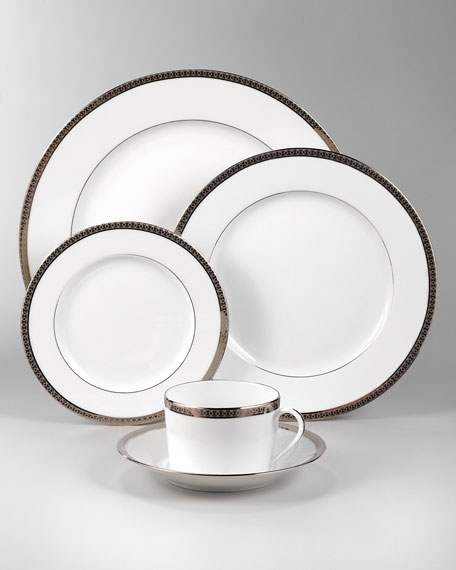 Haviland Symphony Platinum Dinner Plate