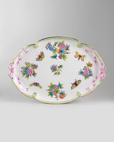 Queen Victoria Platters & Tray