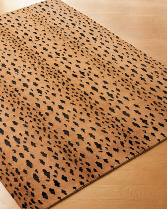 Jaguar Wool Rug
