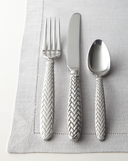 "Lauren Ralph Lauren Five-Piece ""Equestrian Braid"" Flatware Place Setting"