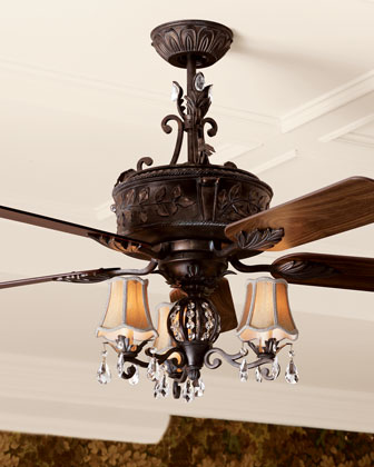 NEW 54 French Country Elegant Ceiling Fan