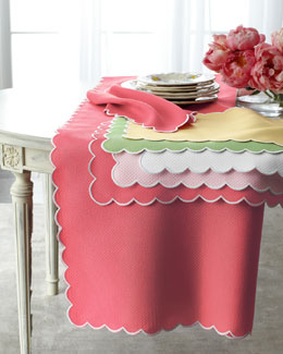 "Matouk ""Savannah Gardens"" Table Linens"