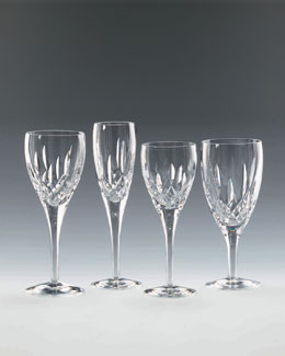 "Waterford Crystal ""Lismore Nouveau"" Stemware"