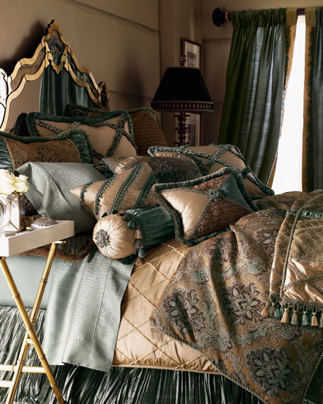 King Villa di Como Lattice Duvet Cover