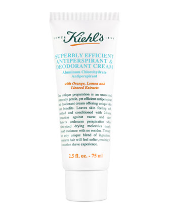 Superbly Efficient Anti-Perspirant & Deodorant Cream