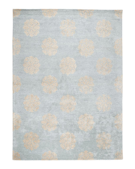 "Floating Medallions Runner, 2' 6"" x 12'"