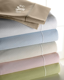 SFERRA Marcus Collection Dot Sheet Sets by Sferra