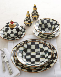 "MacKenzie-Childs ""Courtly Check"" Dinnerware"