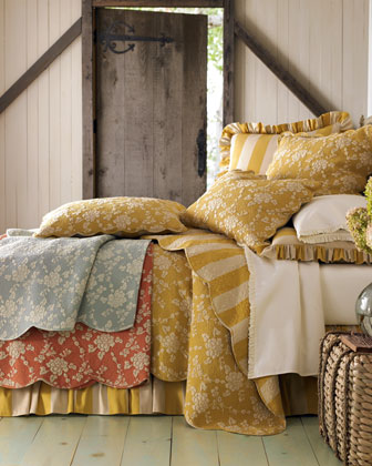 Madeline Floral Quilt, Full/Queen