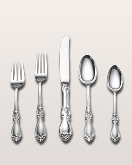 Towle silversmiths 66-Piece Queen Elizabeth I Sterling Silver Flatware Service