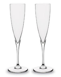 Baccarat Dom Perignon Champagne Flutes