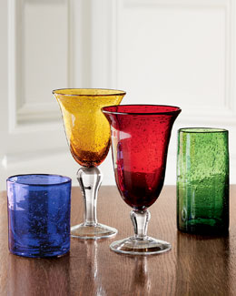 """Iris"" Glassware"