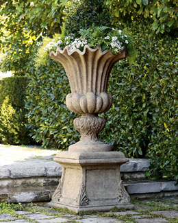 """Acanthus"" Urn & Pedestal"