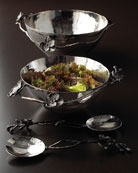 Black Orchid Bowls & Servers