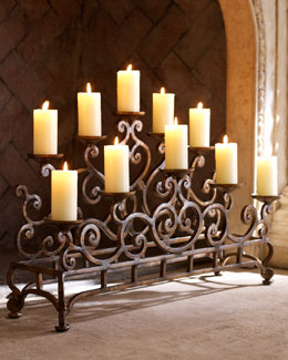Fireplace Candelabrum