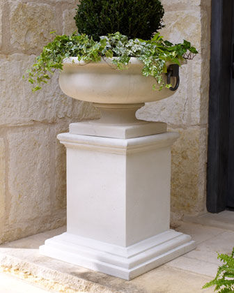 Tuscan-Style Planter & Pedestal