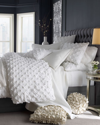 Puckered Diamond Bedding