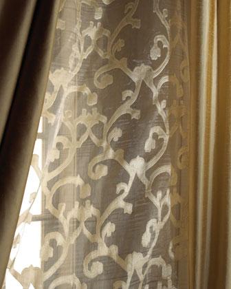 Venetian Scroll Sheers