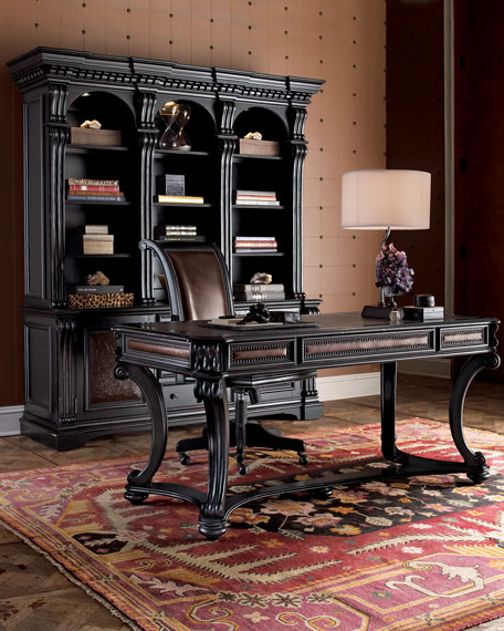Ring In The Steampunk Decor To Pimp Up Your Home: Hooker Furniture Olantio Office Furniture