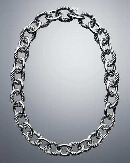 David Yurman Oval Extra-Large Link Necklace