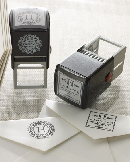 Square Personal Stamper