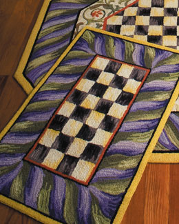 "MacKenzie-Childs ""Courtly Check"" Rug"