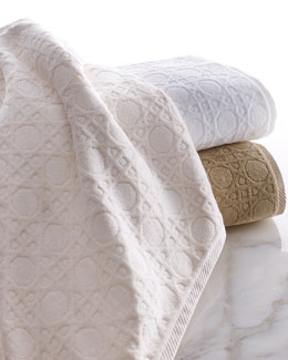 "Matouk Marcus Collection ""Cane"" Towels"