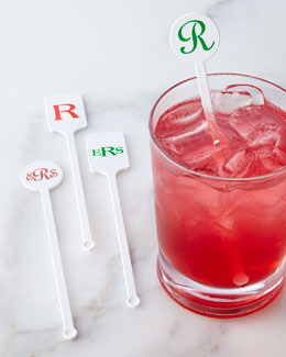 Personalized Stir Sticks