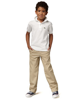 Ralph Lauren Childrenswear Suffield Pants, Classic Khaki
