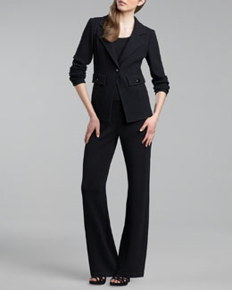 St. John Collection Mercer Santana Jacket, Santana Contour Tank & Santana Pants