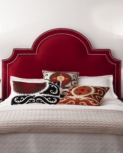 "Massoud ""Sonia"" Velvet Headboard"
