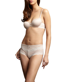 Chantelle C Paris Memory-Foam Bra & Shorty
