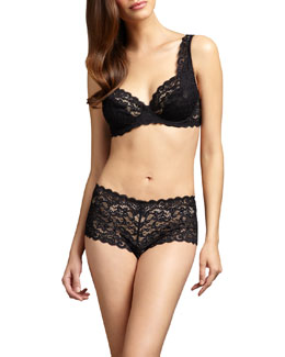 Hanro Luxury Moments Underwire Bra & Boy Shorts