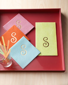 "Caspari ""Lizard"" Cocktail Napkins & Guest Towels/Buffet Napkins"