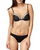 The Net Affect Push-Up Bra & Smooth Bikini