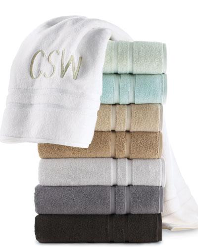 """Waterworks Studio """"Double Dobby"""" Towels"""