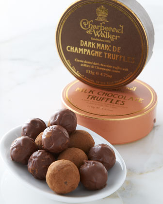 Boxed Chocolate Truffles