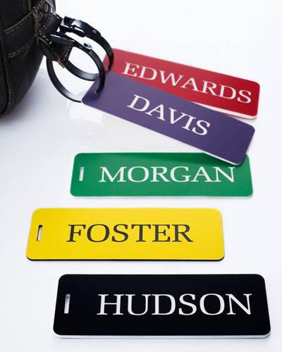 United Tooling Luggage Tags