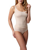 Cotton Seamless Tank & Briefs, Skin