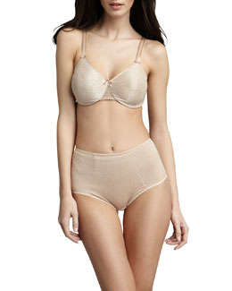 Chantelle C Magnifique Molded Bra & High-Waist Briefs