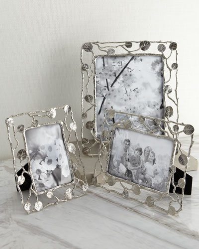 """Botanical Leaf"" Picture Frames"