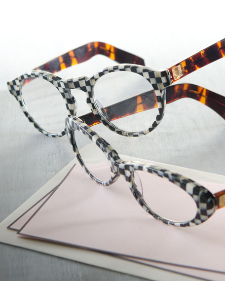 MacKenzie-Childs Cat-Eye Readers