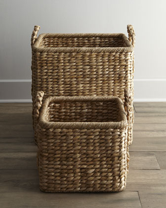 Handwoven Seagrass Baskets