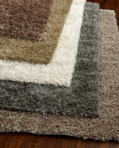 Exquisite Rugs Neutral Shag Rug