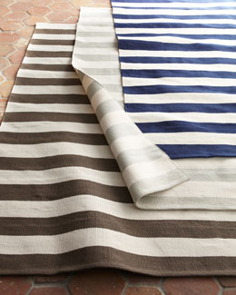 "Dash & Albert Rug Company ""Seaside Stripe"" Outdoor Rug"
