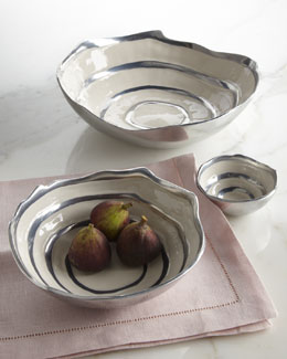 "Michael Wainwright ""Como"" Collection Tabletop Accessories"