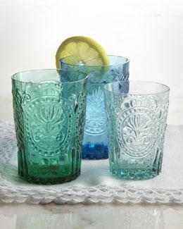 """""""Fleur-de-Lis"""" Glassware"""