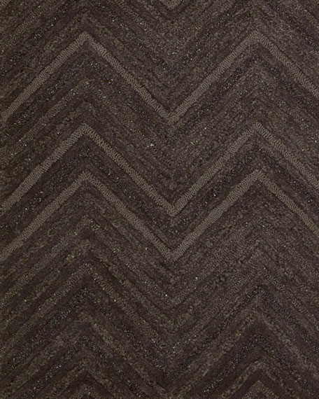 "Dimension Chevron Rug, 5'6"" x 7'5"""